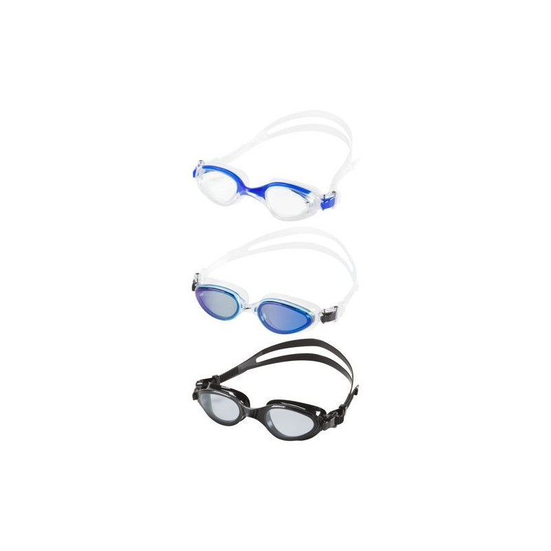 Gafas Speedo Paquete de 3 Uni Negro/Azul para Adulto