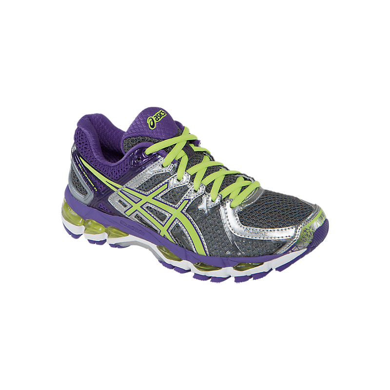 Asics Gel Kayano 21 Mujer Talla US 6 Color Gris/Lila