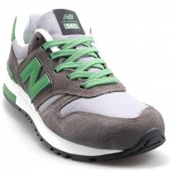 New Balance 565 Gris Con Verde Hombre