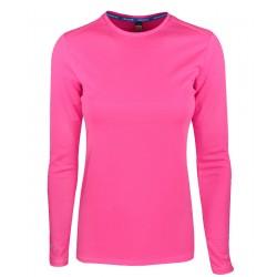 Camiseta Adidas Manga Larga Climachill Rosado