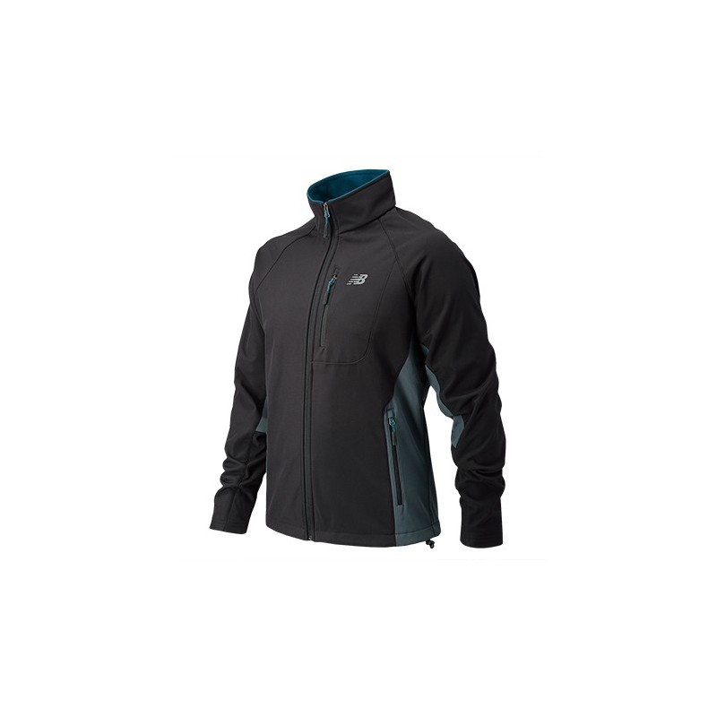 New Balance Chaqueta colorblock Negro US S