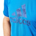 Camiseta Adidas Logo grande Azul
