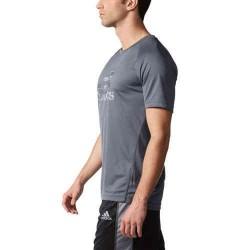 Camiseta Adidas Logo Grande Gris