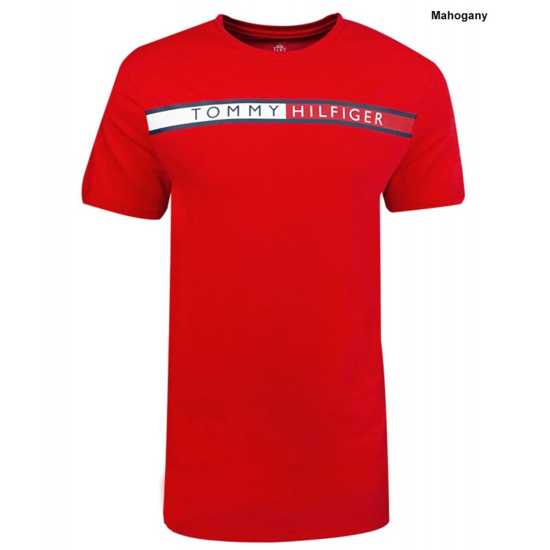 Camiseta Tommy Hilfiger Color Rojo