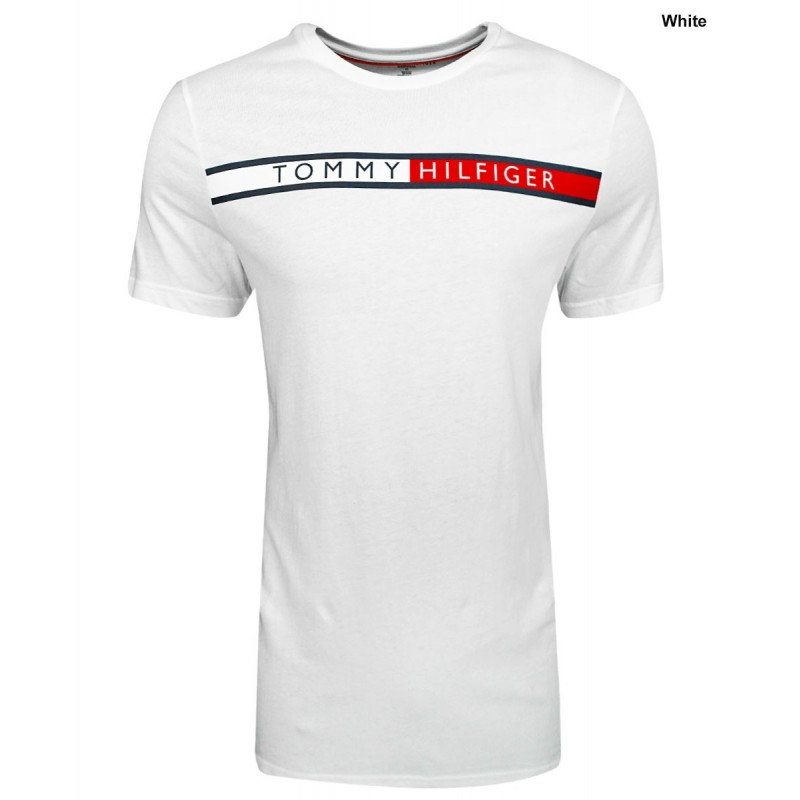 Camiseta Tommy Hilfiger Color Blanco