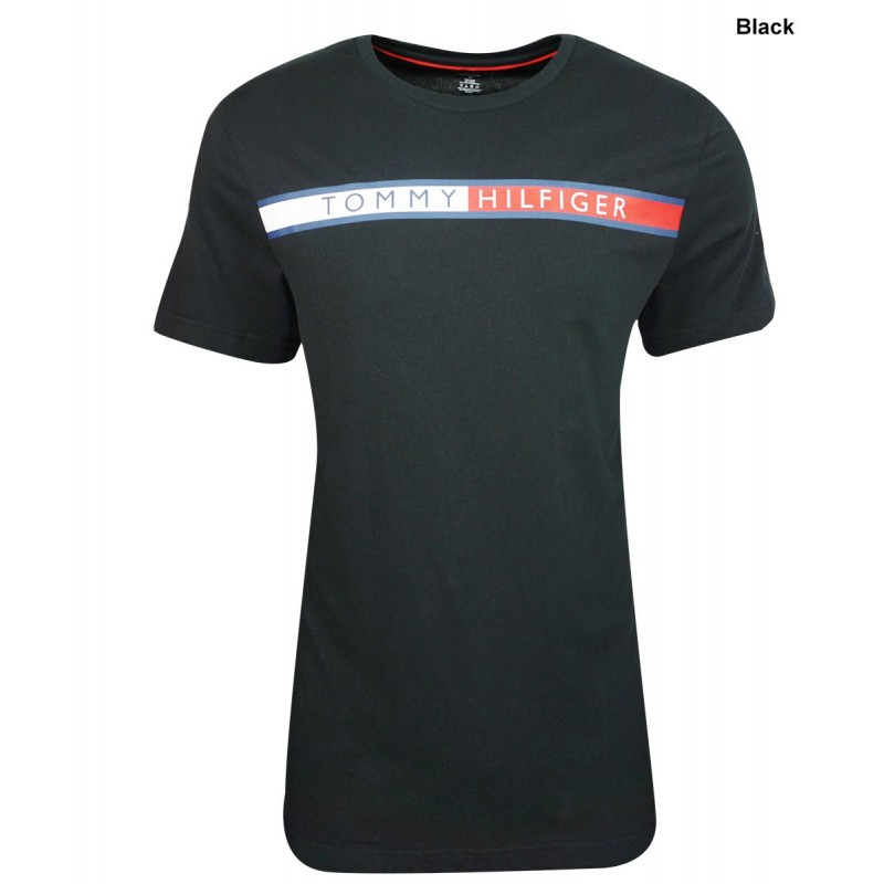 Camiseta Tommy Hilfiger Color Negro