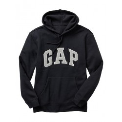 GAP Arch logo hoodie Negro
