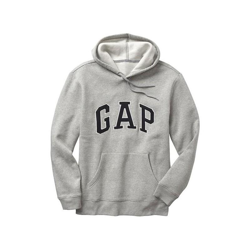 GAP Arch logo hoodie Gris