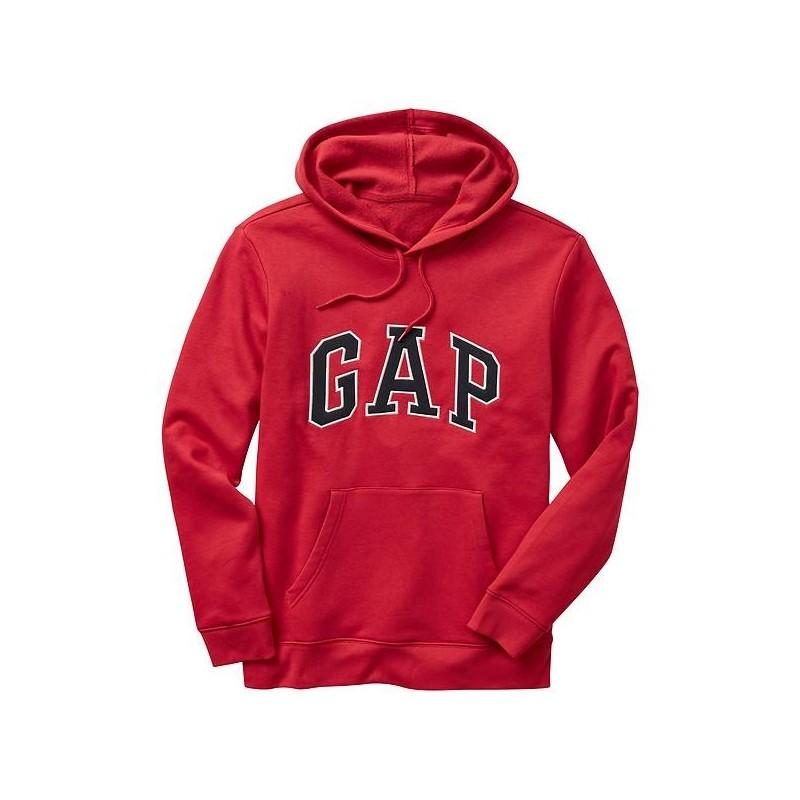 GAP Arch logo hoodie Rojo