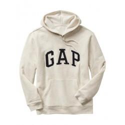 GAP Arch logo hoodie Oatmeal