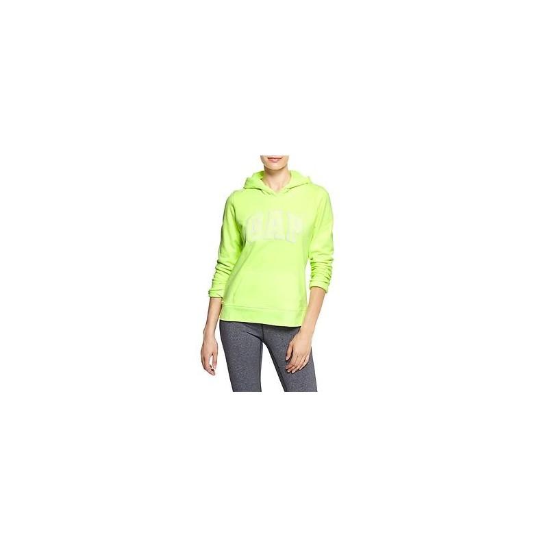 GAP Arch logo hoodie Mujer Verde