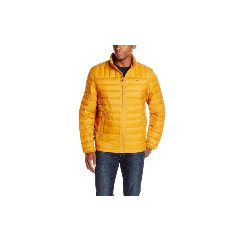 Tommy Hilfiger Hombre Packable Down Oro