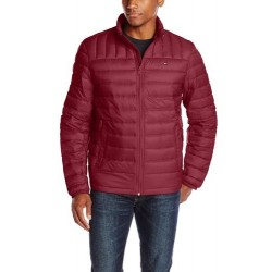 Tommy Hilfiger Hombre Packable Down Roja
