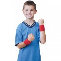 Muñequeras deportivas Color Rojo para todos