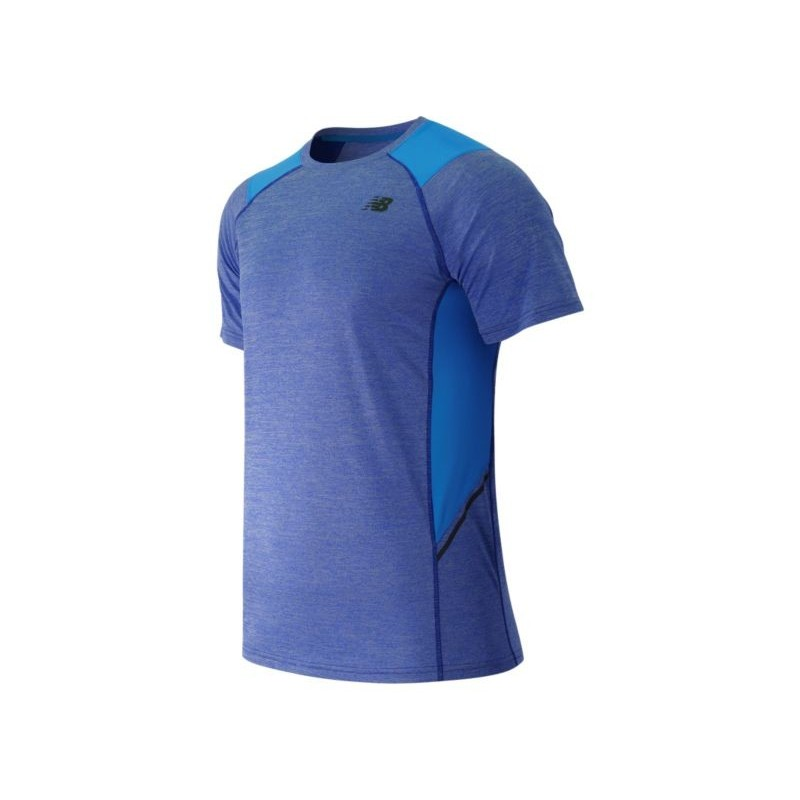 New Balance S/S Novelty Performance Top Azul