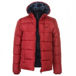 Lee Cooper 2 Zip Bubble Roja