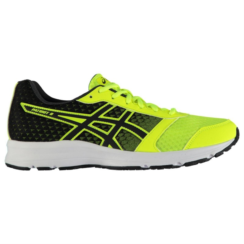 Asics Patriot 8 Running Amarillo Seguridad