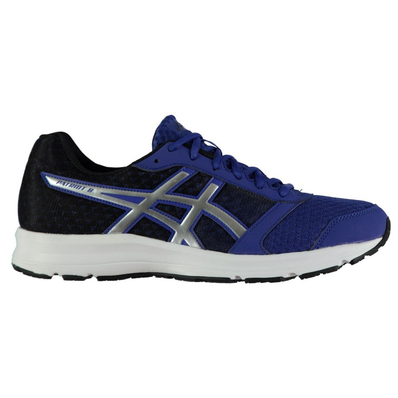 Asics Patriot 8 Running Azul/Plata
