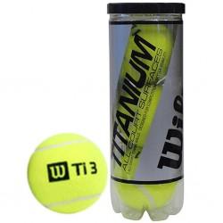 Bolas de tenis Wilson Titanium High alt (3 Uni)