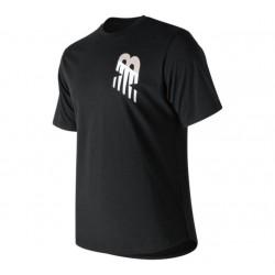 Camiseta New Balance Negra Talla S logo NB