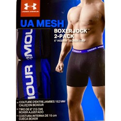 Under Armour Men's 2-Pack mallado Boxer Brief