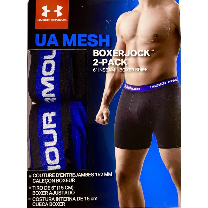 Under Armour Men's 2-Pack mallado Boxer Brief