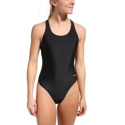 Vestido de Baño Aquatica Negro Solid Wide Strap