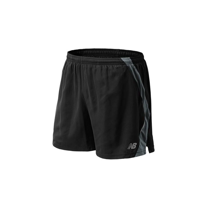 Pantaloneta negra para hombre 12,5 cm de largo Talla: US L