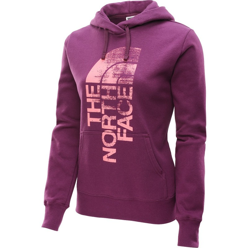 Saco  deportivo North Face para mujer Color Púrpura