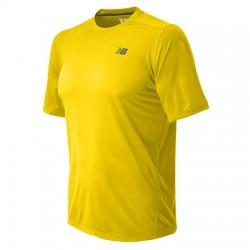 Camiseta New Balance Performance Amarilla