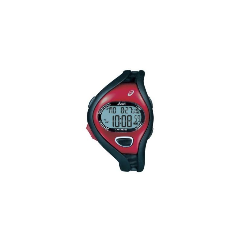 Reloj Deportivo ASICS® Hombre Running 100-Lap Rojo/Negro Cronómetro