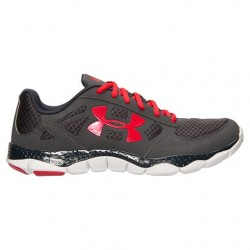 Under Armour para Hombre Engage BL Running Gris Negro Rojo