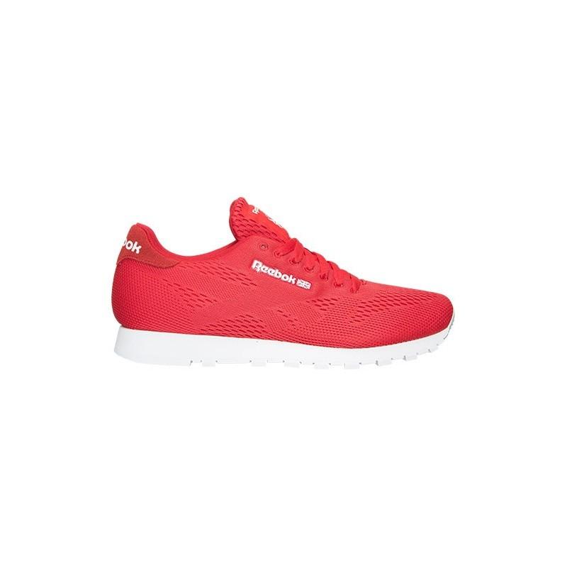 Reebok CL Runner Tech Mallados Casual Rojos