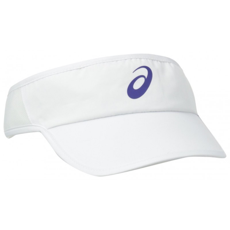 Visera Asics Unisex Color Blanco