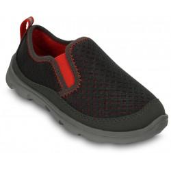 Crocs Duet Sport Slip-on Color Negro para Niño  ó Niña