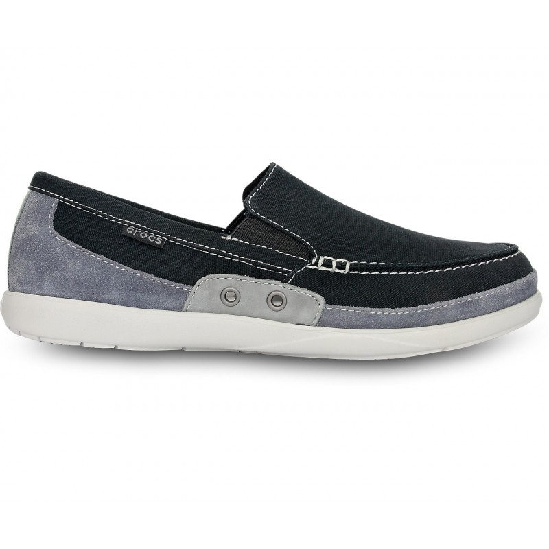 Crocs Walu Accent Gamusa Loafer Color Gris