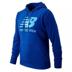 Saco Deportivo New Balance para Hombre con capucha Talla US M Azul.